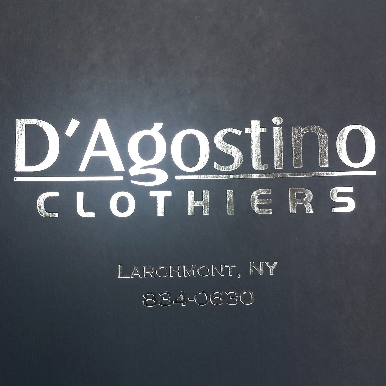 D'Agostino Clothiers & Tailors
