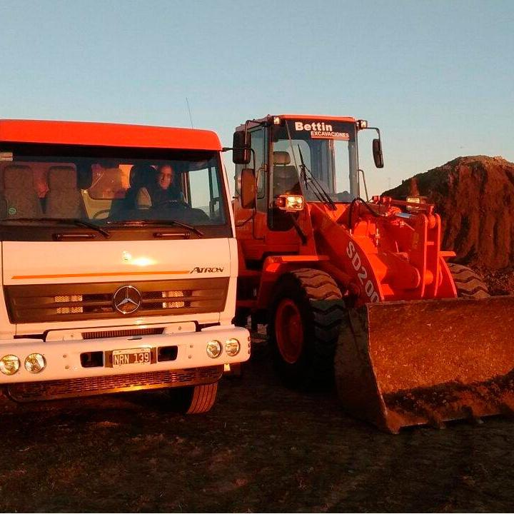Bettin Excavaciones - Movimiento de Tierra y Excavaciones - Alquiler de Palas Mecanicas