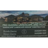 PRO GUERRA LANDSCAPE AND MORE