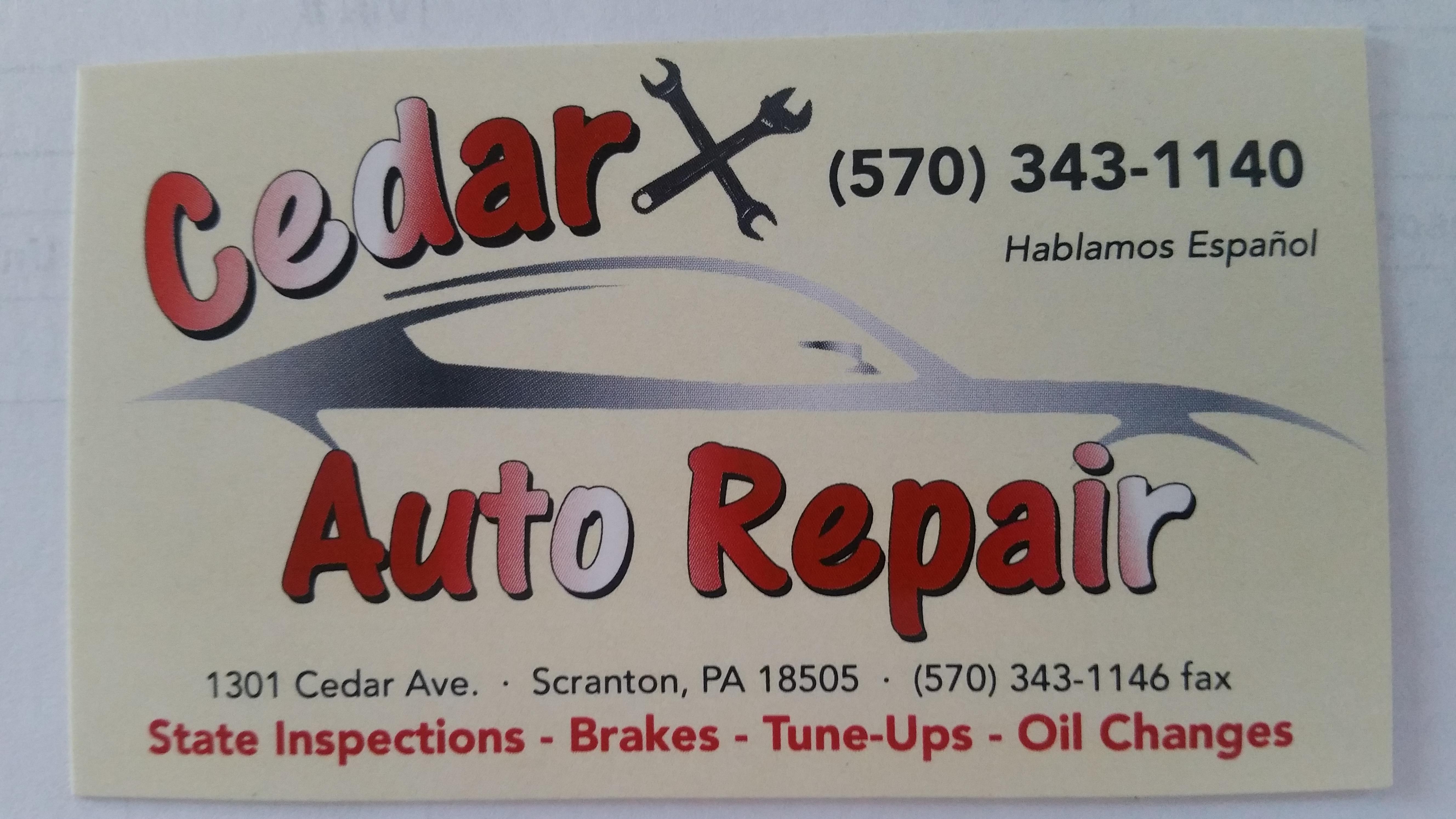 Cedar Auto Repair image 1