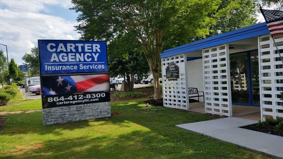 Carter Agency Insurance Services In Mauldin Sc 864