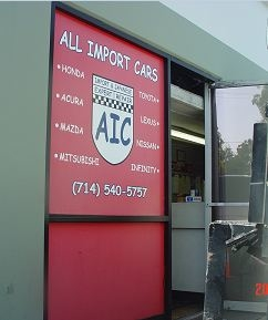 All Import Cars - Smog Check Auto Repair - ad image