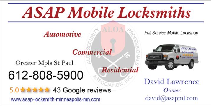 ASAP Mobile Locksmiths image 1