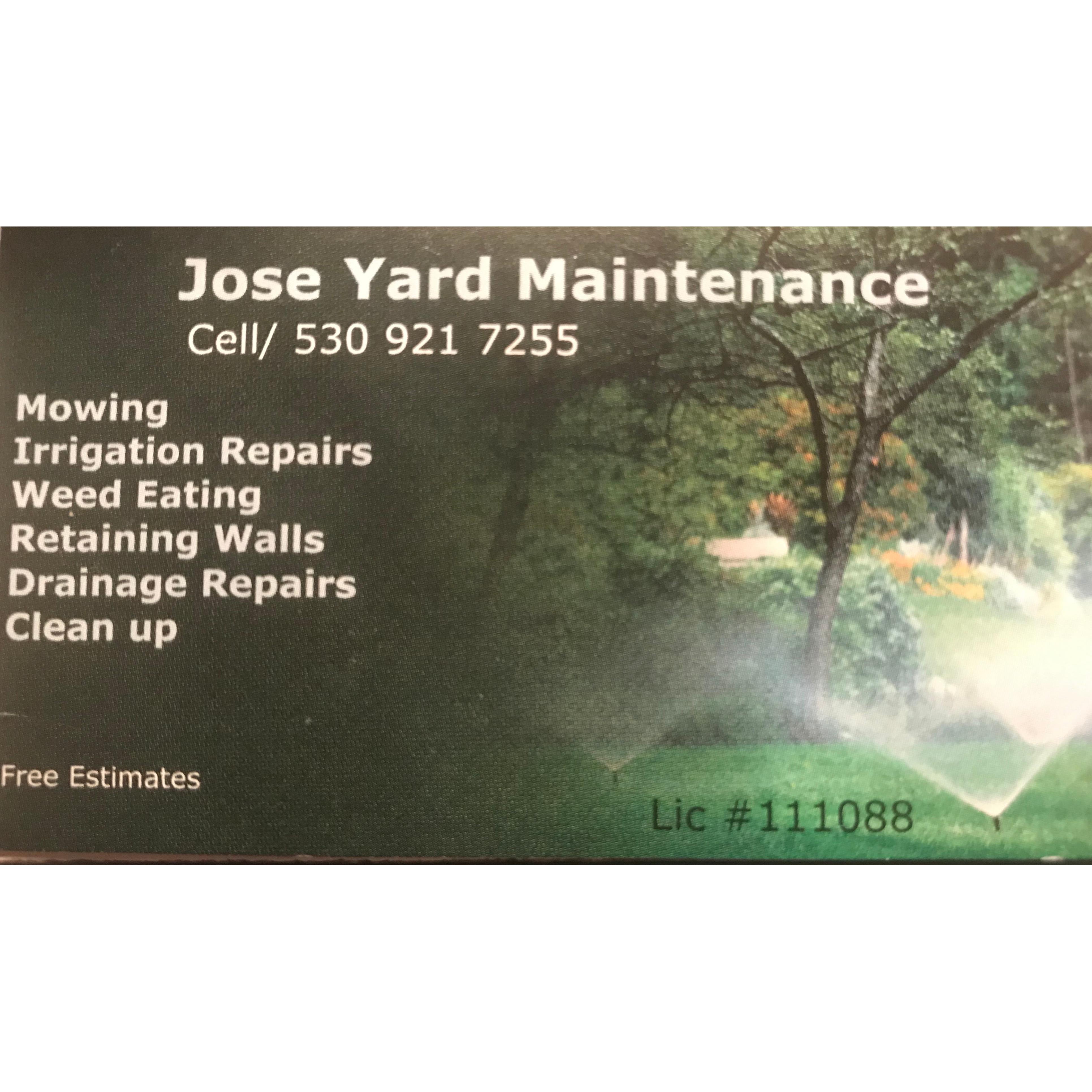 Jose Yard Maintenance
