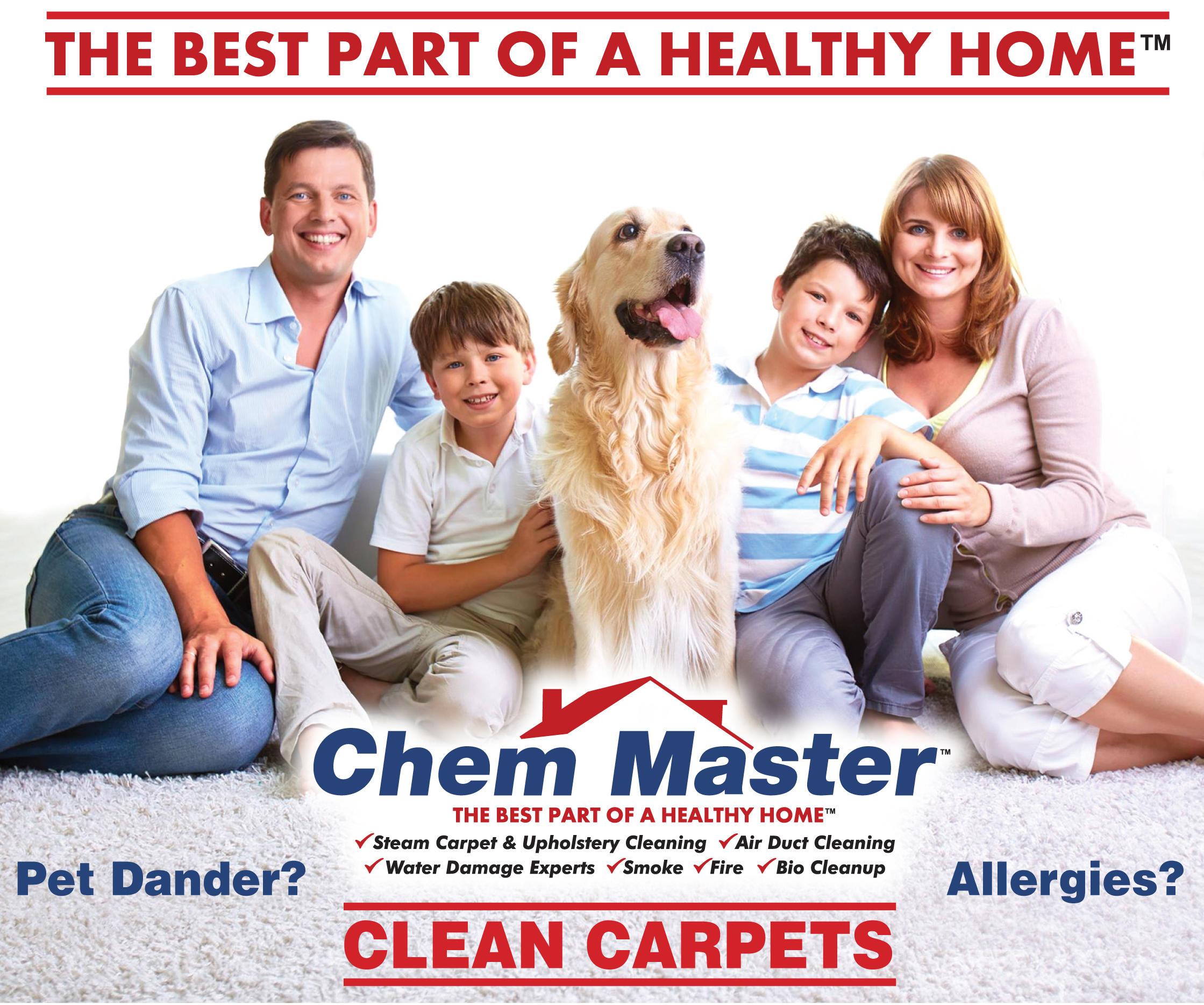 Chem Master Carpet Cleaning And Restoration image 1