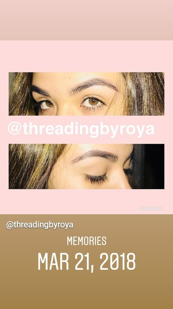 Roya Eyebrows Threading image 0