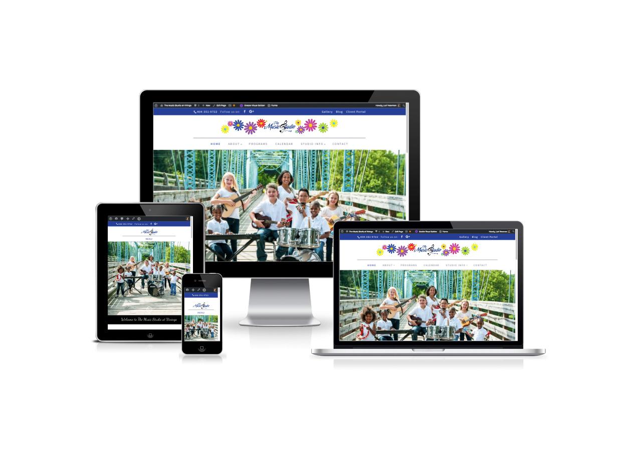 Web Design for Music Studios