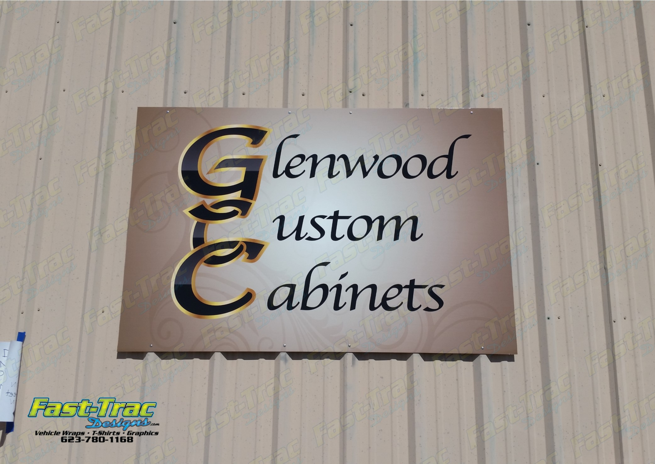 Glenwood Custom Cabinets Fast Trac Designs Vehicle Wraps Screen Printing Signs Phoenix