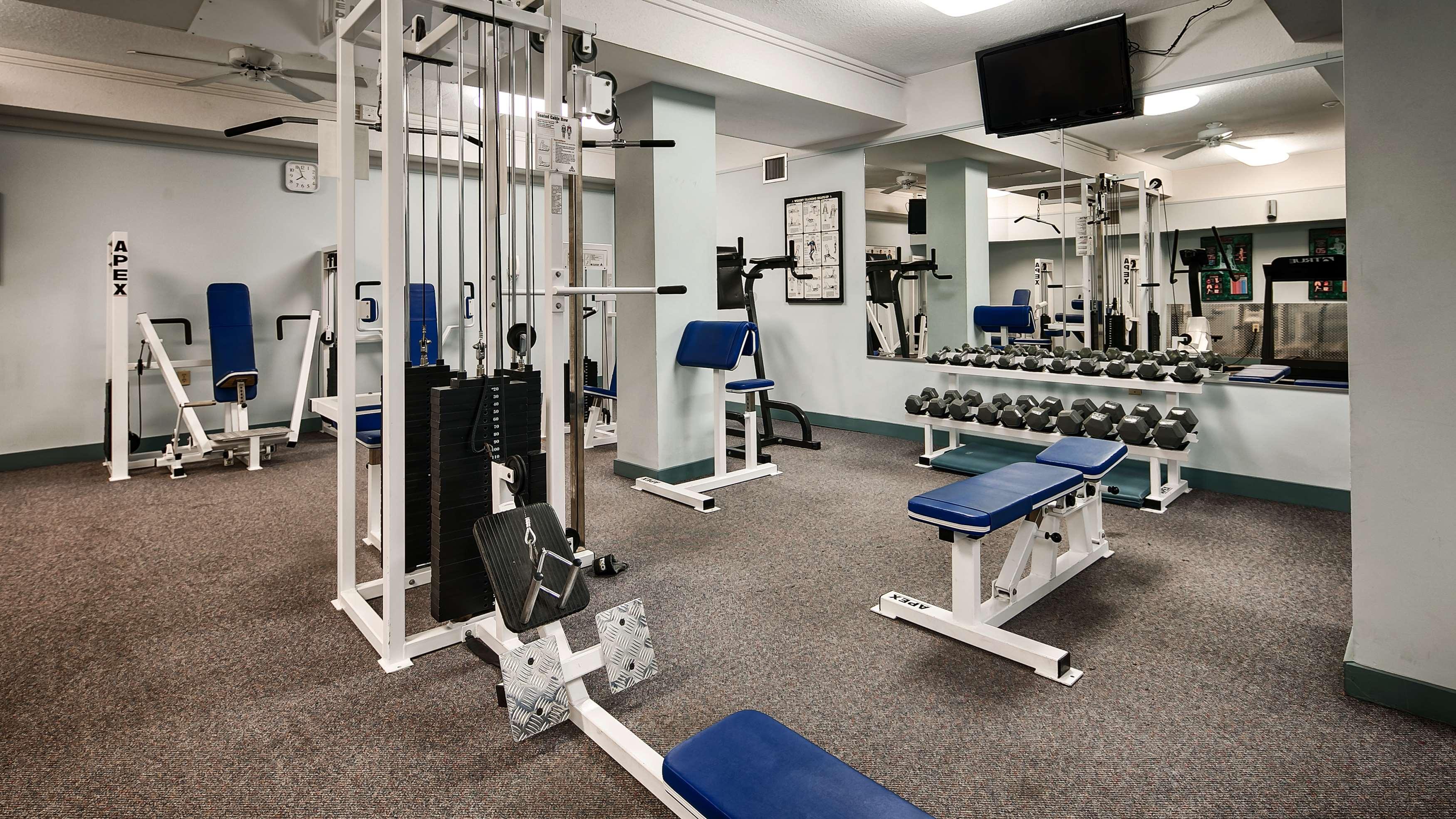 Best Western Plus Barclay Hotel in Port Alberni: Fitness Center