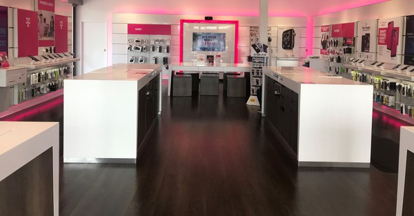 Interior photo of T-Mobile Store at Eldridge & Westheimer, Houston, TX