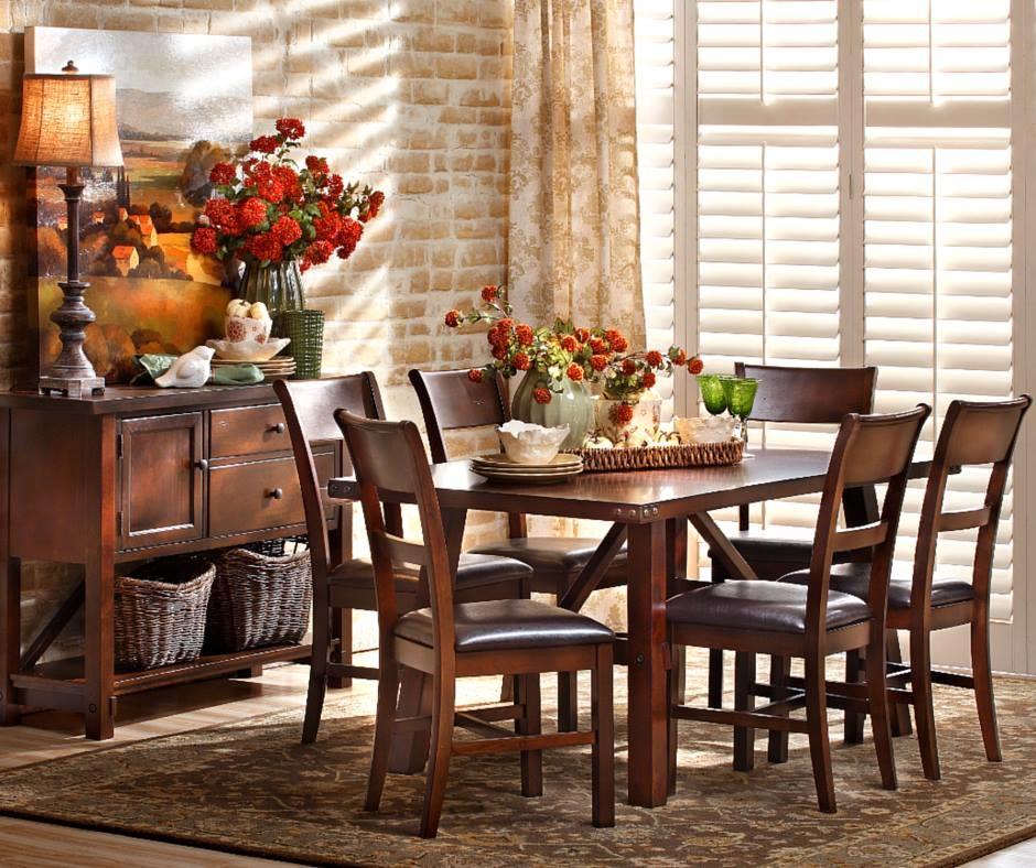Oak express dining room