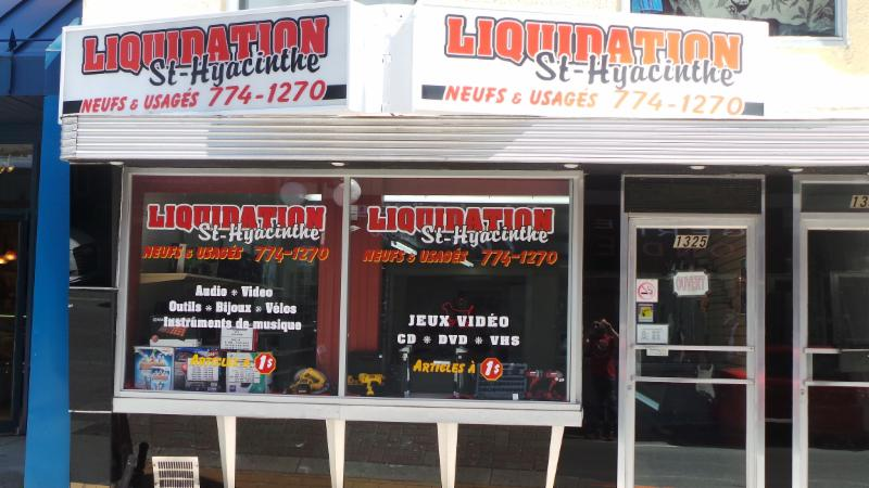 Liquidation St-Hyacinthe à Saint-Hyacinthe