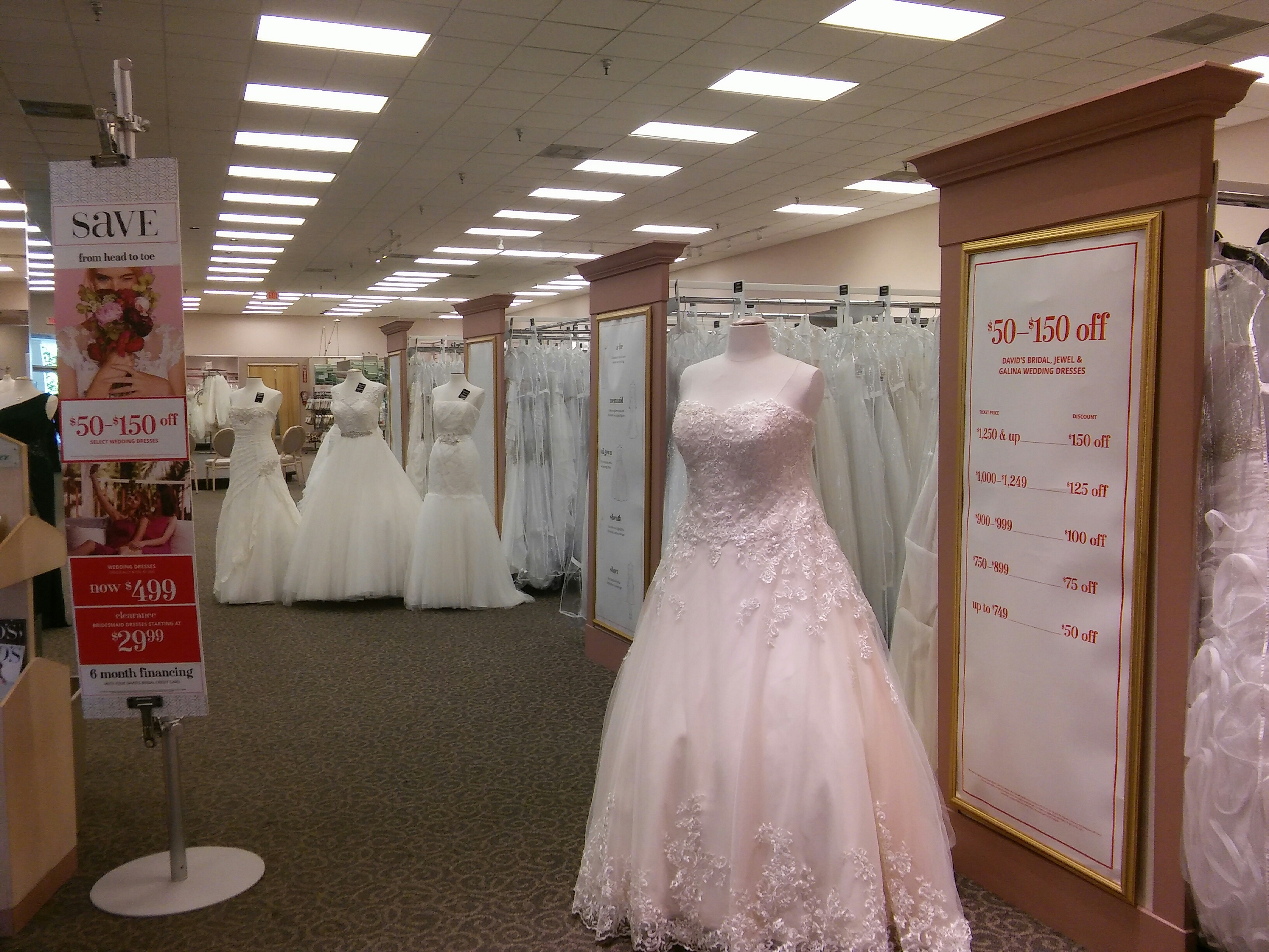 David 39 s bridal in coral gables fl 305 441 7 for Coral gables wedding dresses