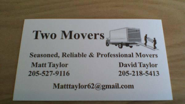 Two Movers image 0