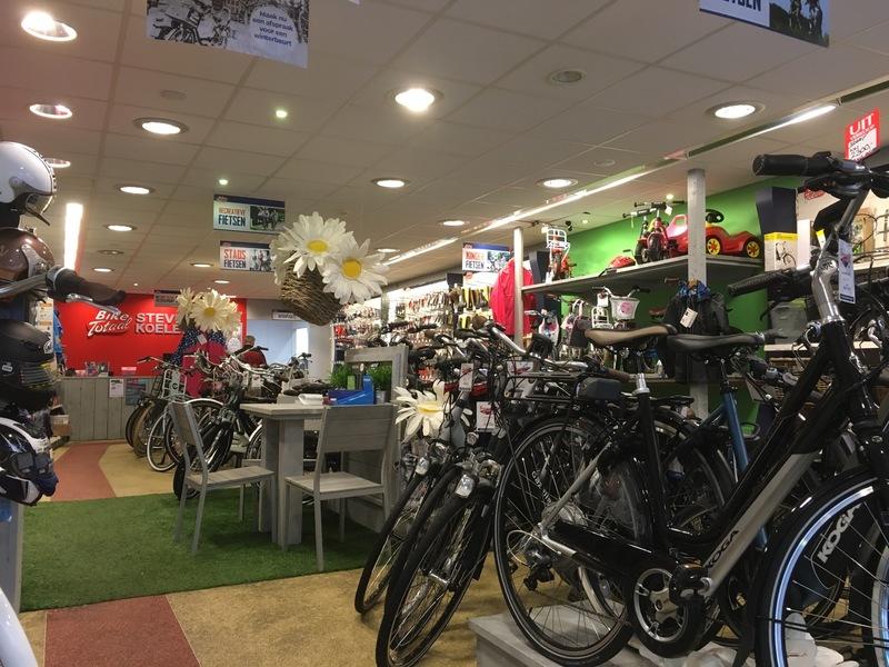 Bike totaal steven koelewijn hoevelaken openingstijden for Koopavond amersfoort