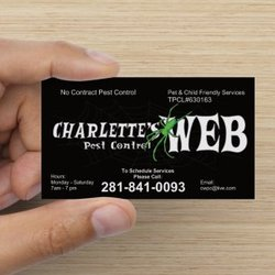image of the Charlette's Web Pest Control
