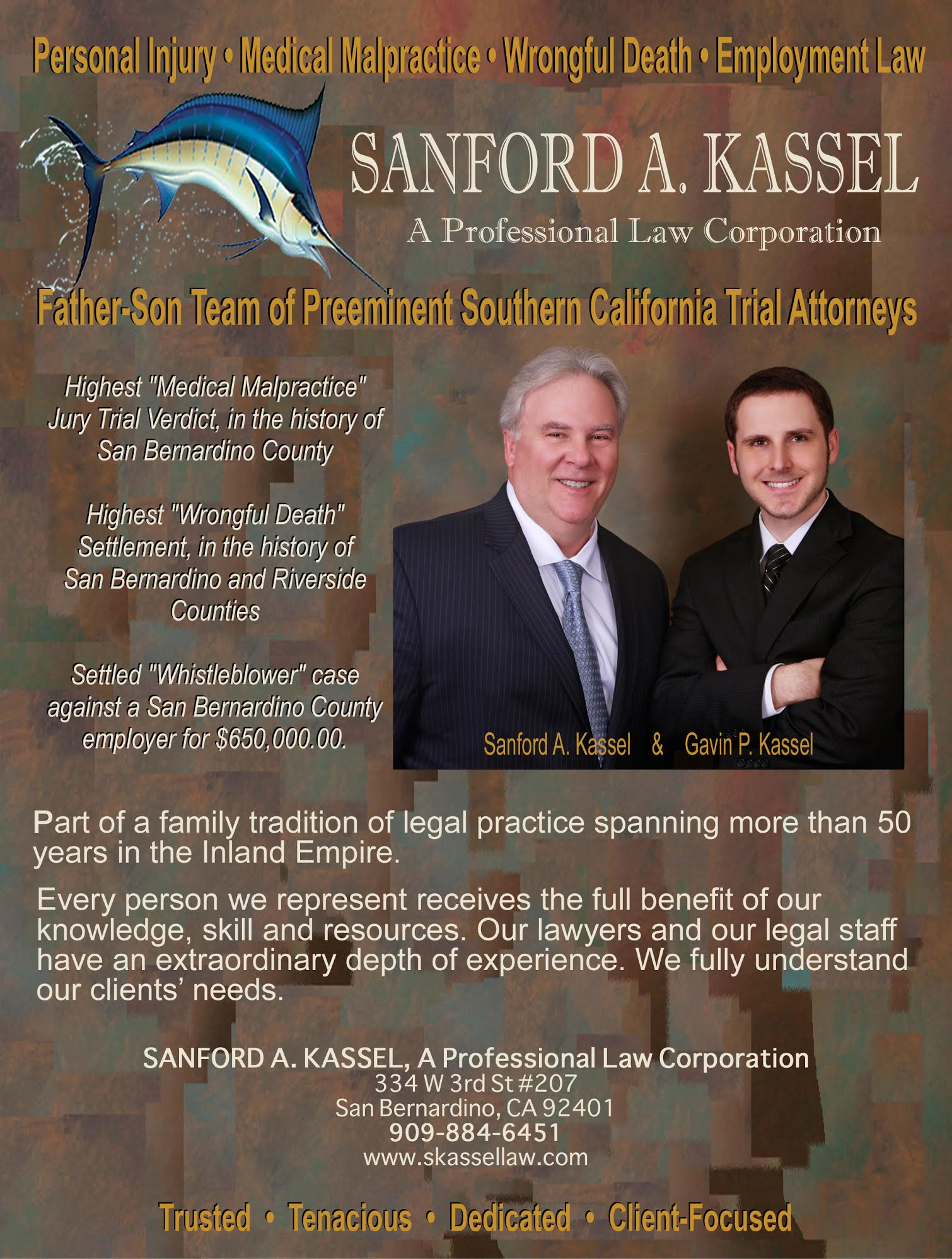 Sanford A. Kassel, A Professional Law Corporation image 3