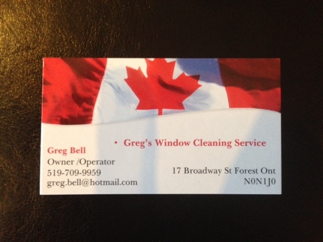 Greg's Window Cleaning Service in Forest