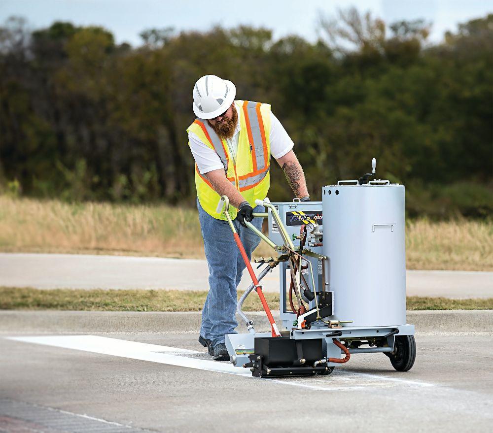Centerline Supply stocks a variety of pavement marking equipment.