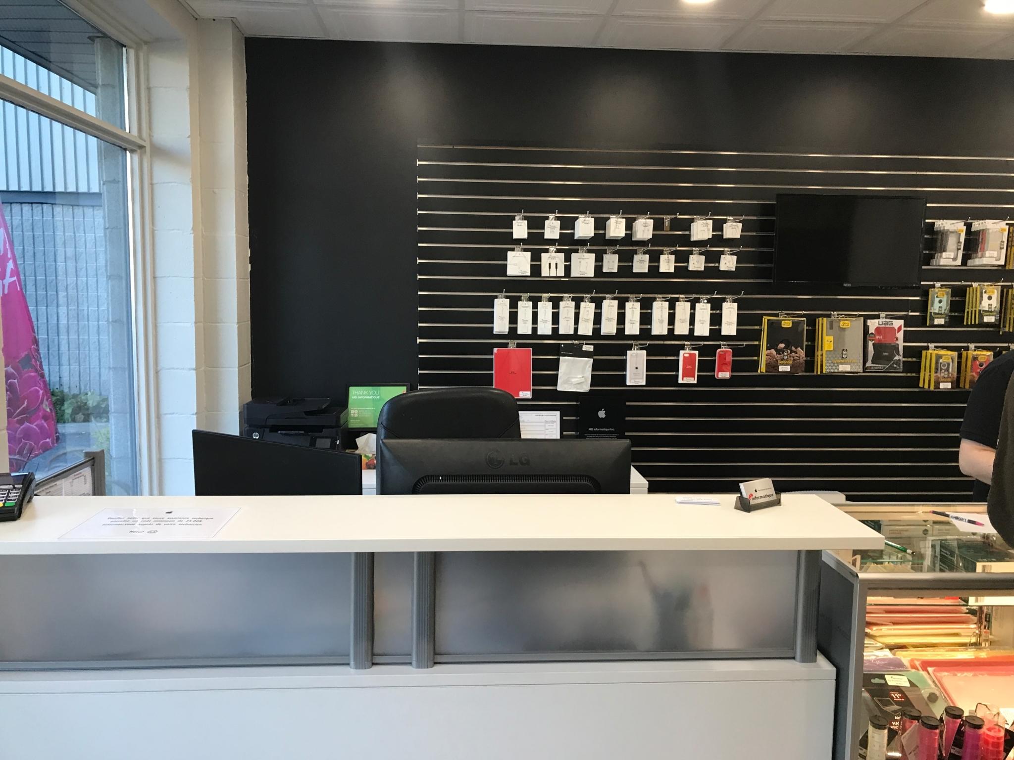 MD Informatique - Centre de service Apple
