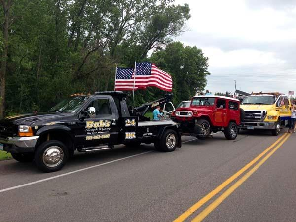 Bob 39 s towing recovery inc big lake in big lake mn for Allstate motor club towing