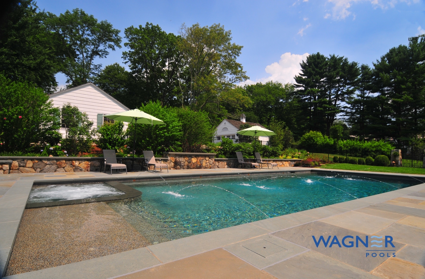Wagner pools darien ct swimming pool contractors for Swimming pool companies