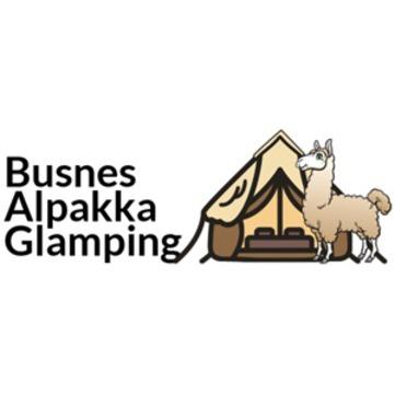 Busnes Alpakkaglamping DA logo