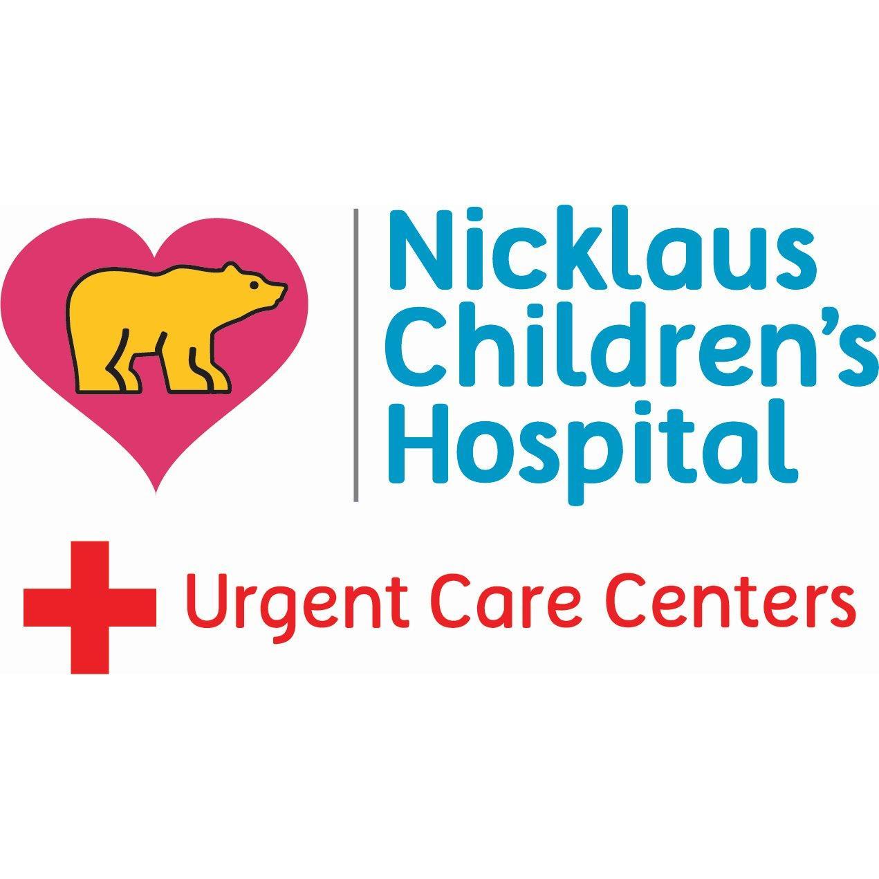 Nicklaus Children S Urgent Care Center 3100 Sw 62 Avenue Miami Fl
