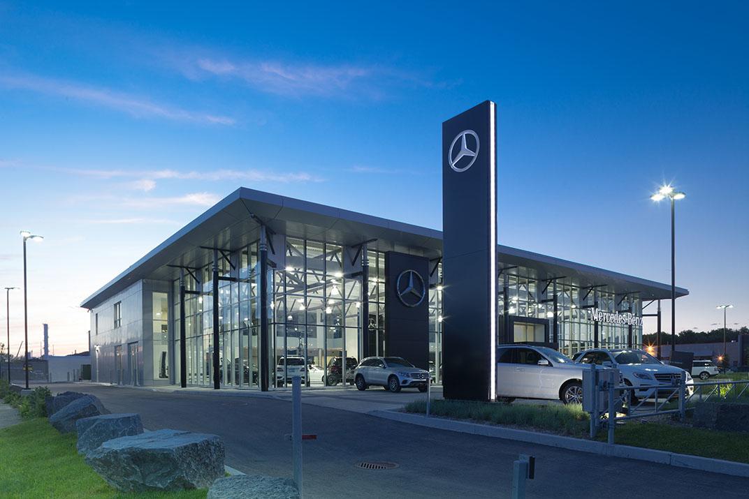 Mercedes benz montr al est pointe aux trembles qc ourbis for Mercedes benz montreal