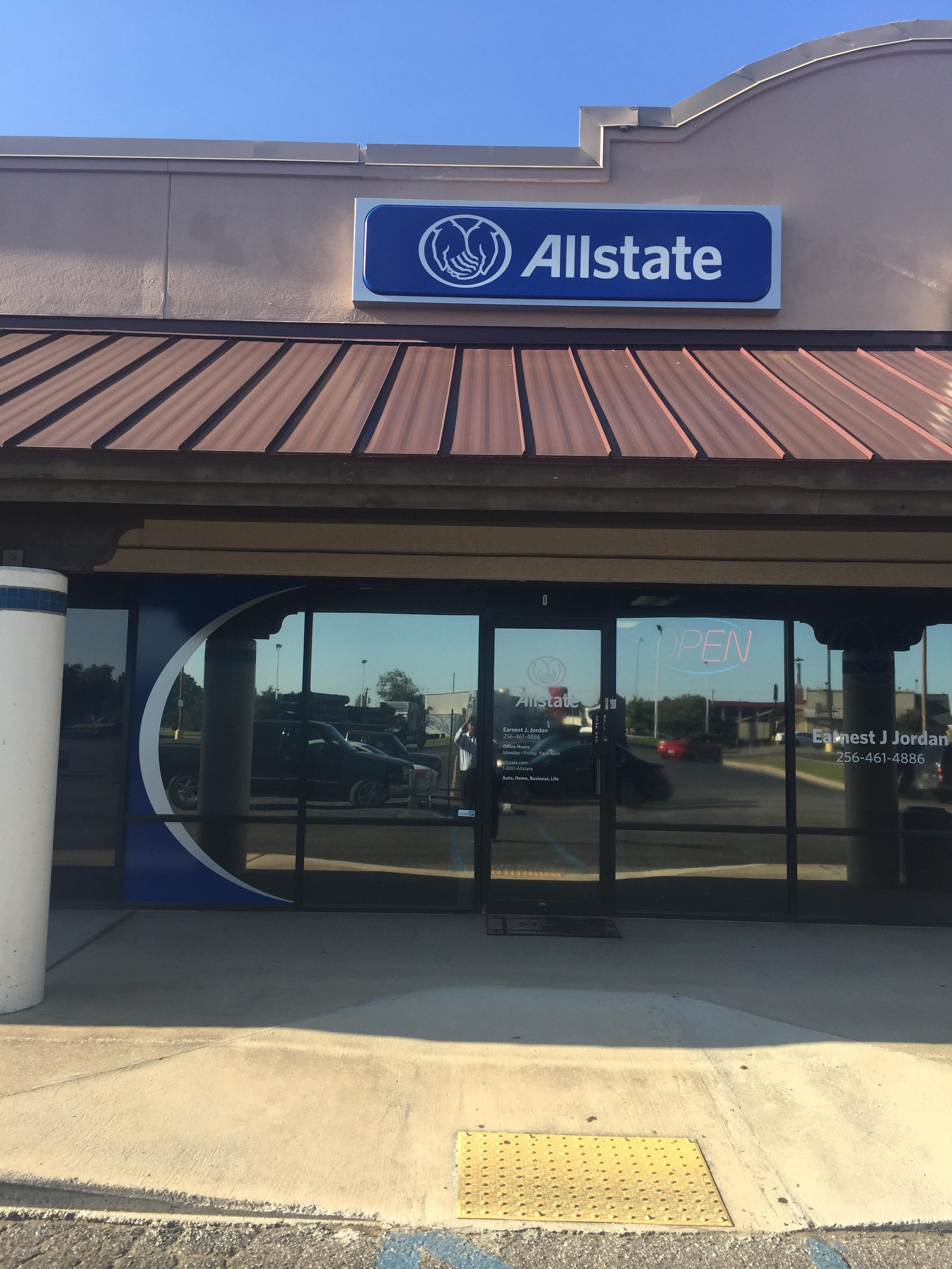 Earnest Jordan: Allstate Insurance