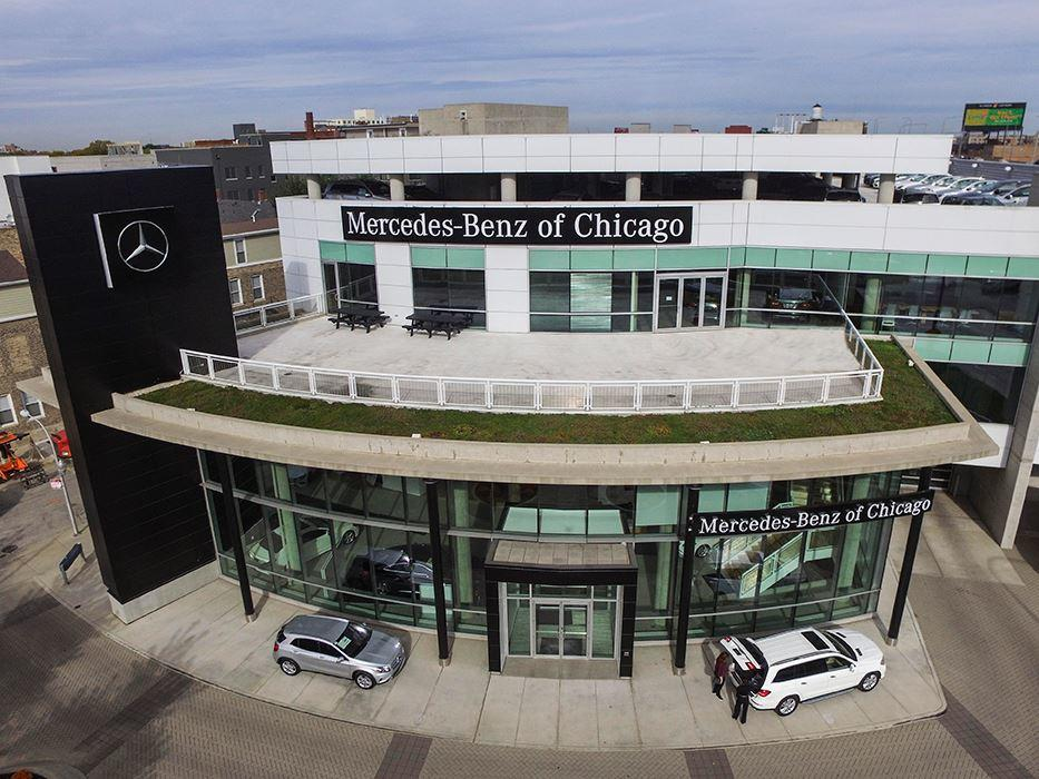 Mercedes benz of chicago at 1520 w north ave chicago il for Chicago mercedes benz dealer
