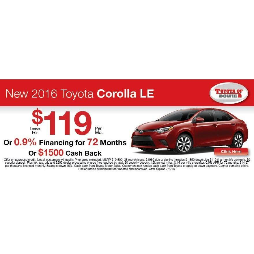 Toyota of Bowie - Bowie, MD 20716 - (301) 867-1600 | ShowMeLocal.com