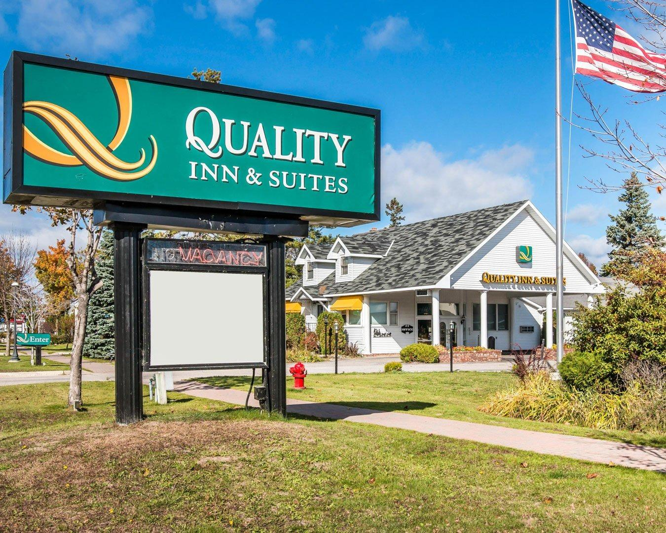 Shopping Tips for Quality Inn: 1. If you discover a cheaper rate within one day of booking your reservation, Quality Inn will discount your rate to the lower rate and give you an additional night stay for free! 2. Adults age 60 and older can get additional discounts of % off at Quality Inn Hotels.