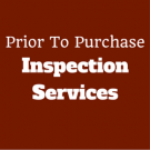 Prior To Purchase Inspection Services image 1