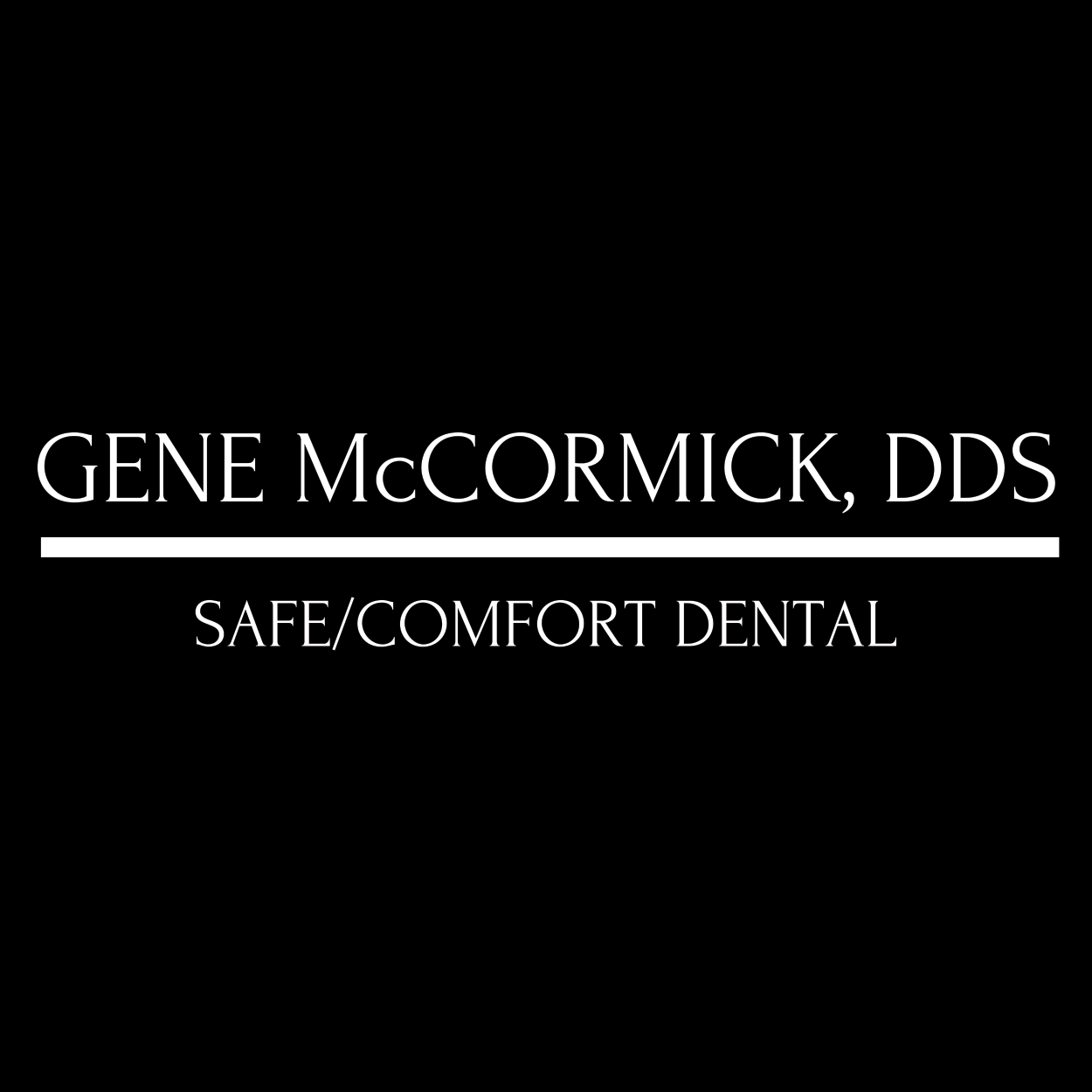 Gene McCormick DDS