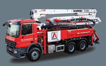 Betonpompenbedrijf Gebr Van Antwerpen BV
