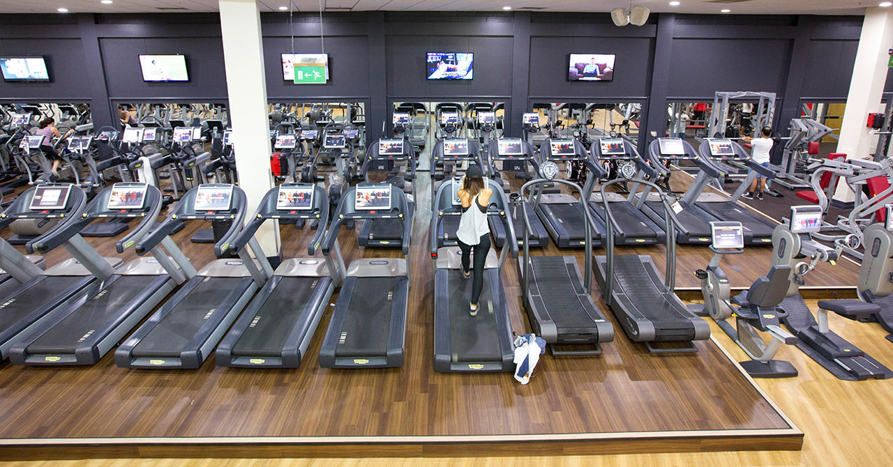 Virgin Active Fitness Equipment In Northampton Nn4 0eb