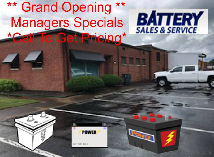 Battery Sales and Service - Chattanooga Battery Store