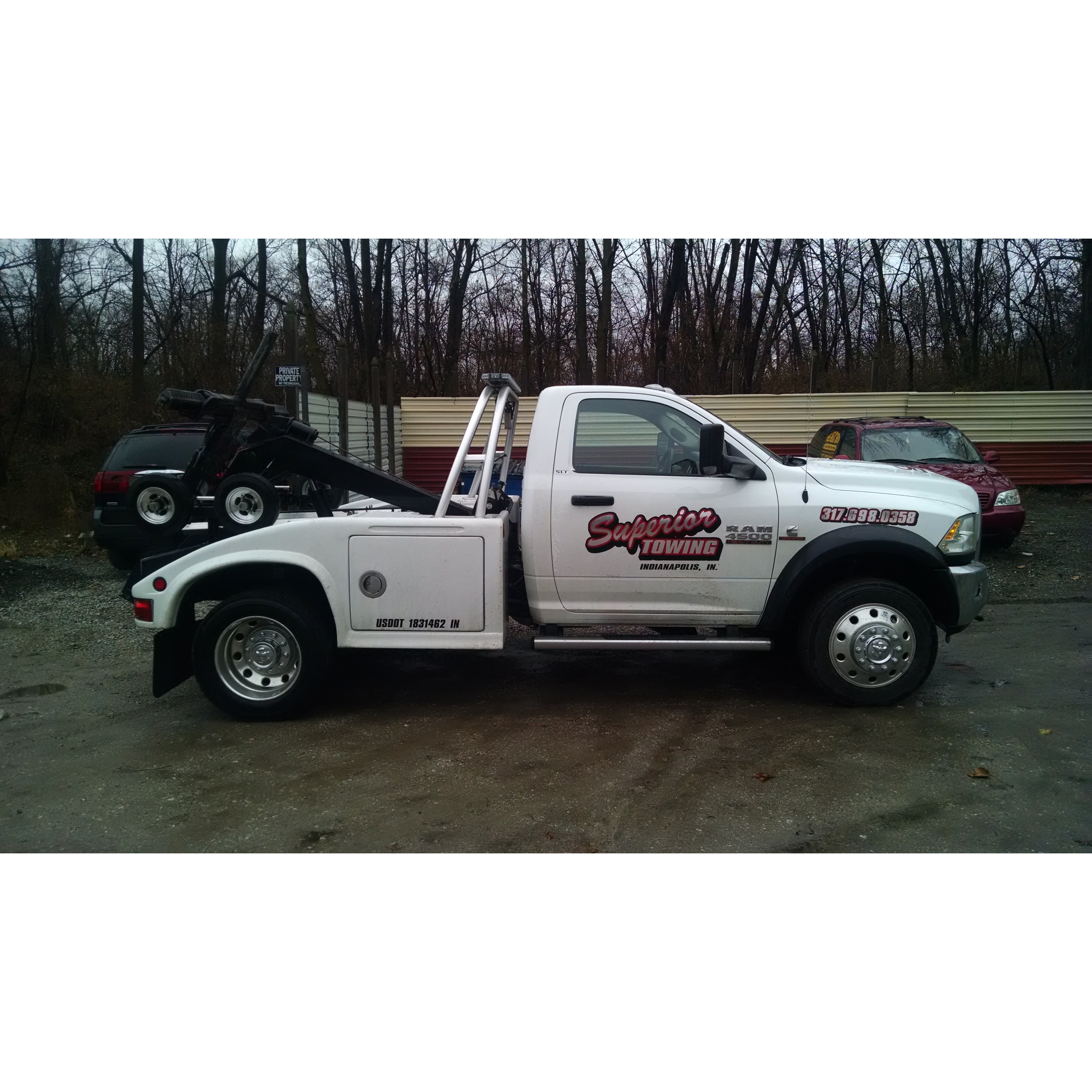 Superior towing inc in indianapolis in 317 698 0358 for Motor city towing detroit