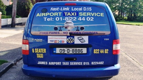 Taxi deals dublin airport