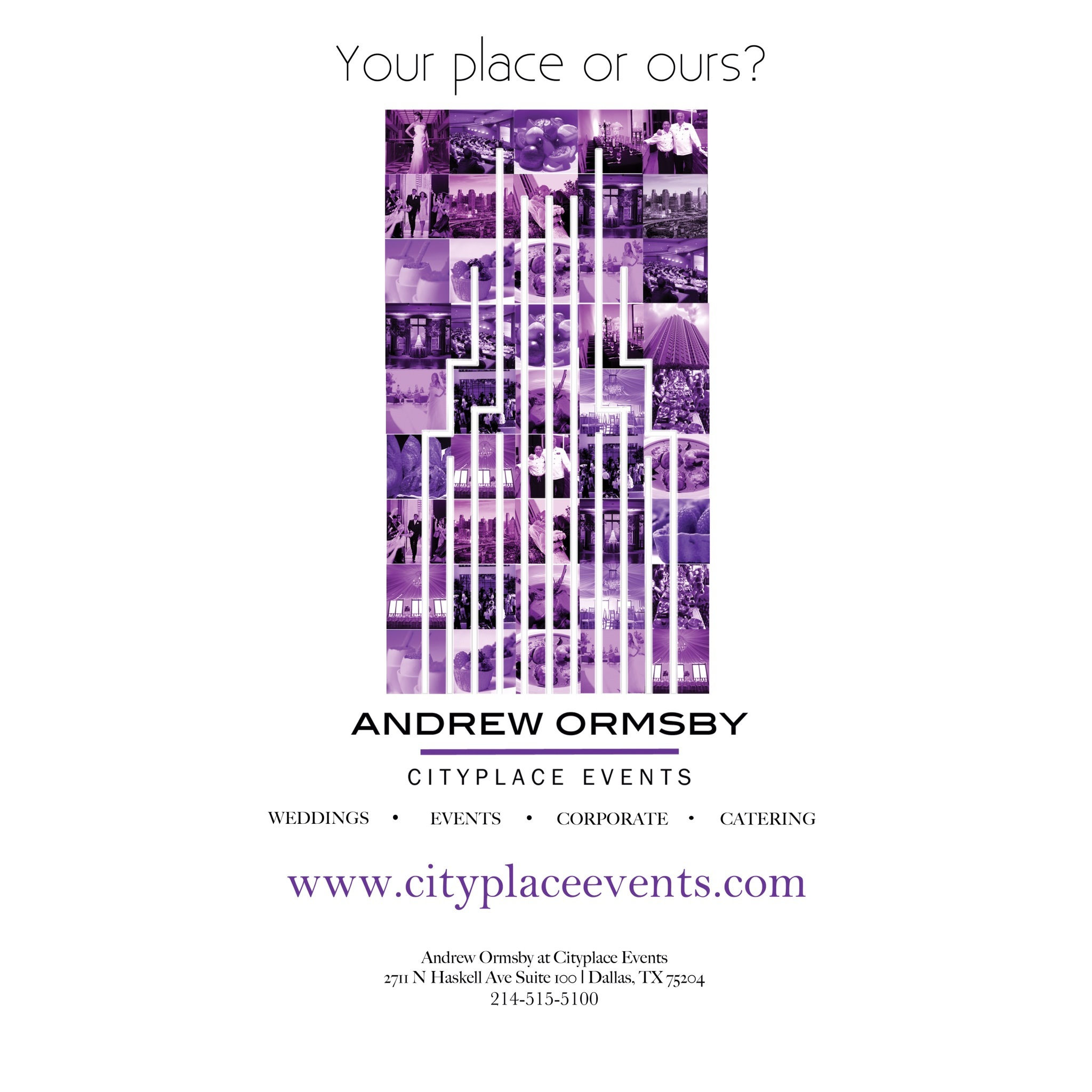 Andrew Ormsby at Cityplace Events - Dallas, TX 75204 - (214)515-5100 | ShowMeLocal.com