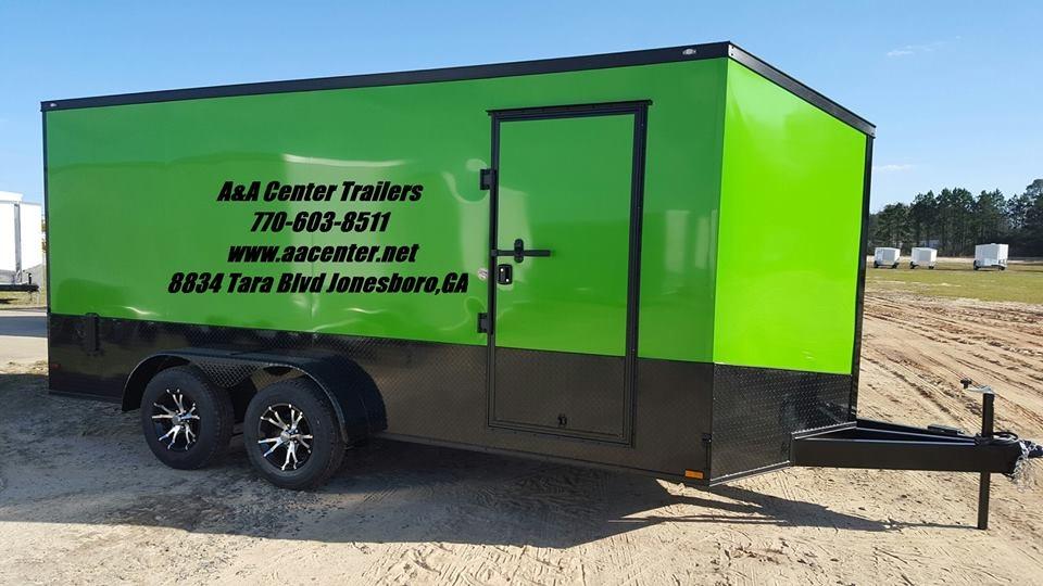 AA Center Trailers 8834 Tara Blvd Jonesboro GA Trailer Sales