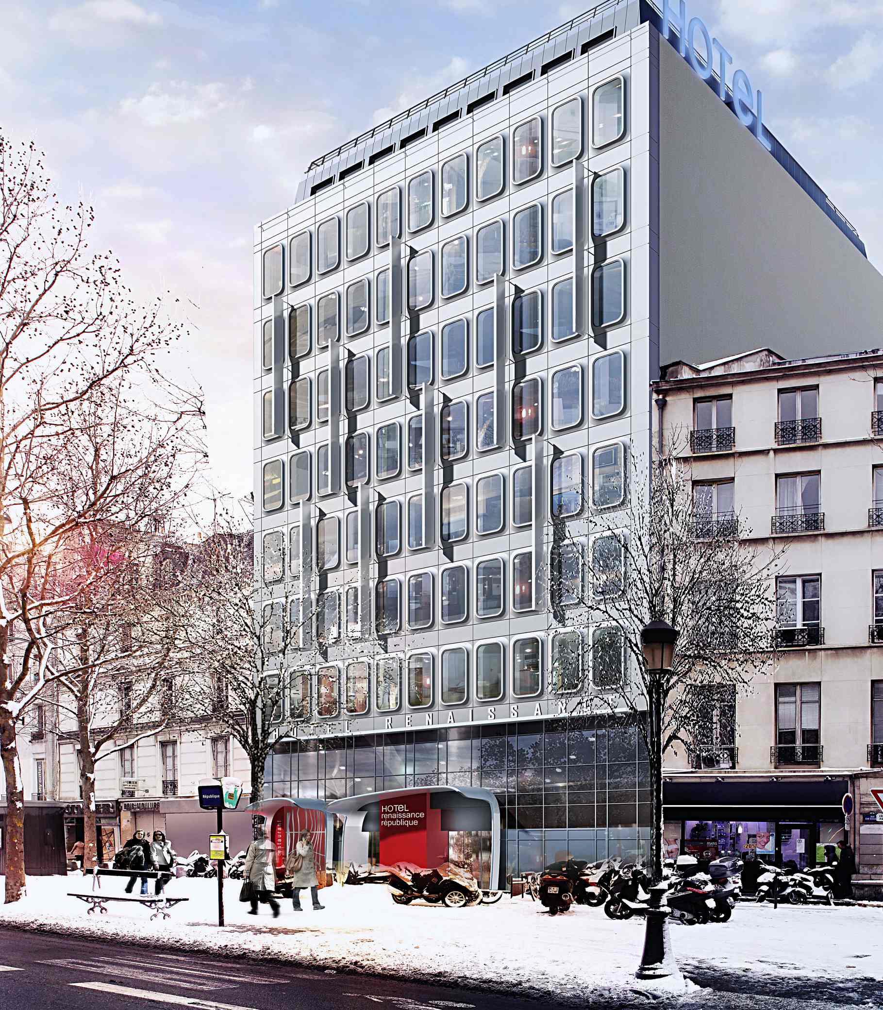 renaissance paris republique hotel 40 rue rene boulanger 75010 paris. Black Bedroom Furniture Sets. Home Design Ideas