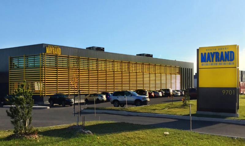 Mayrand Limitée à Anjou: Resto depôt Mayrand - Building