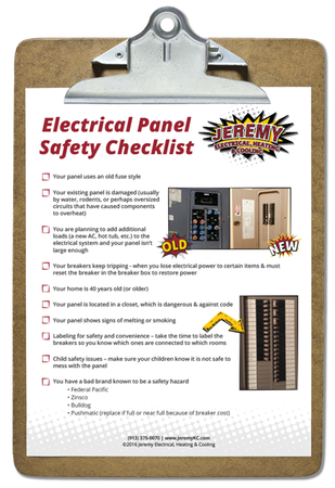 Kansas City Electrical Panel Safety Checklist