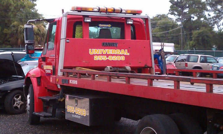 Call Universal Towing for all your towing and recovery needs.  386-255-0203
