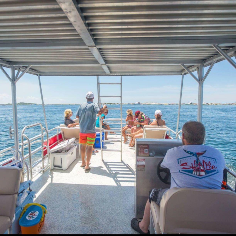 Shell Island Pontoon Rentals image 1