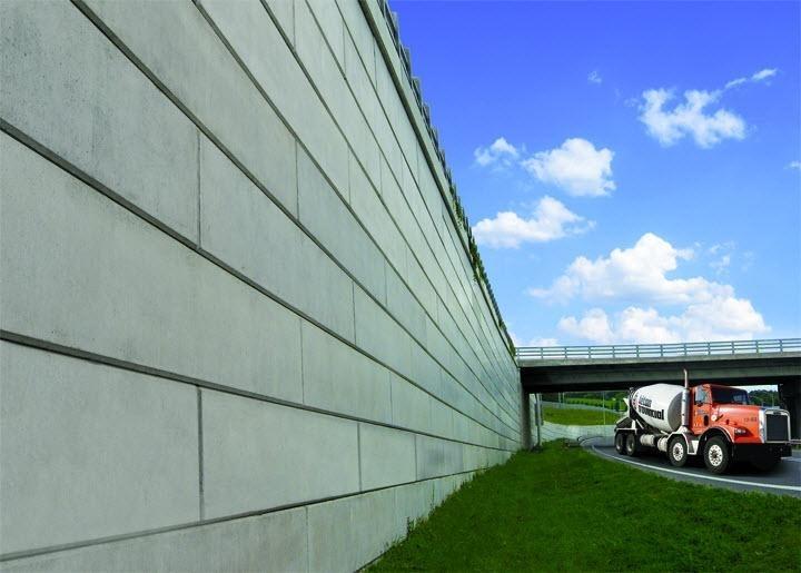 Béton Provincial Ltée à Rimouski: Mur Ter-Voile