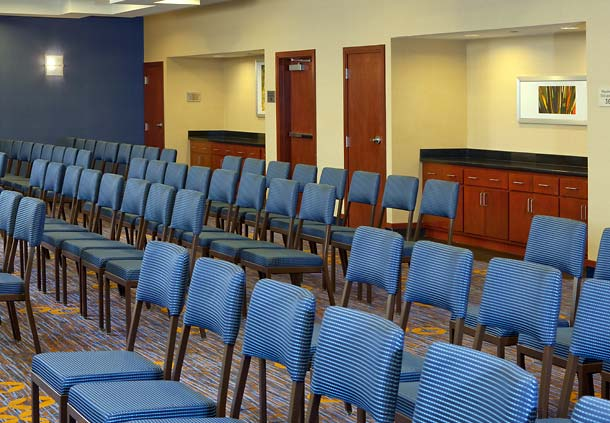 Our 3 smaller meeting rooms can be joined to create our University Ballroom seating up to 108 people.