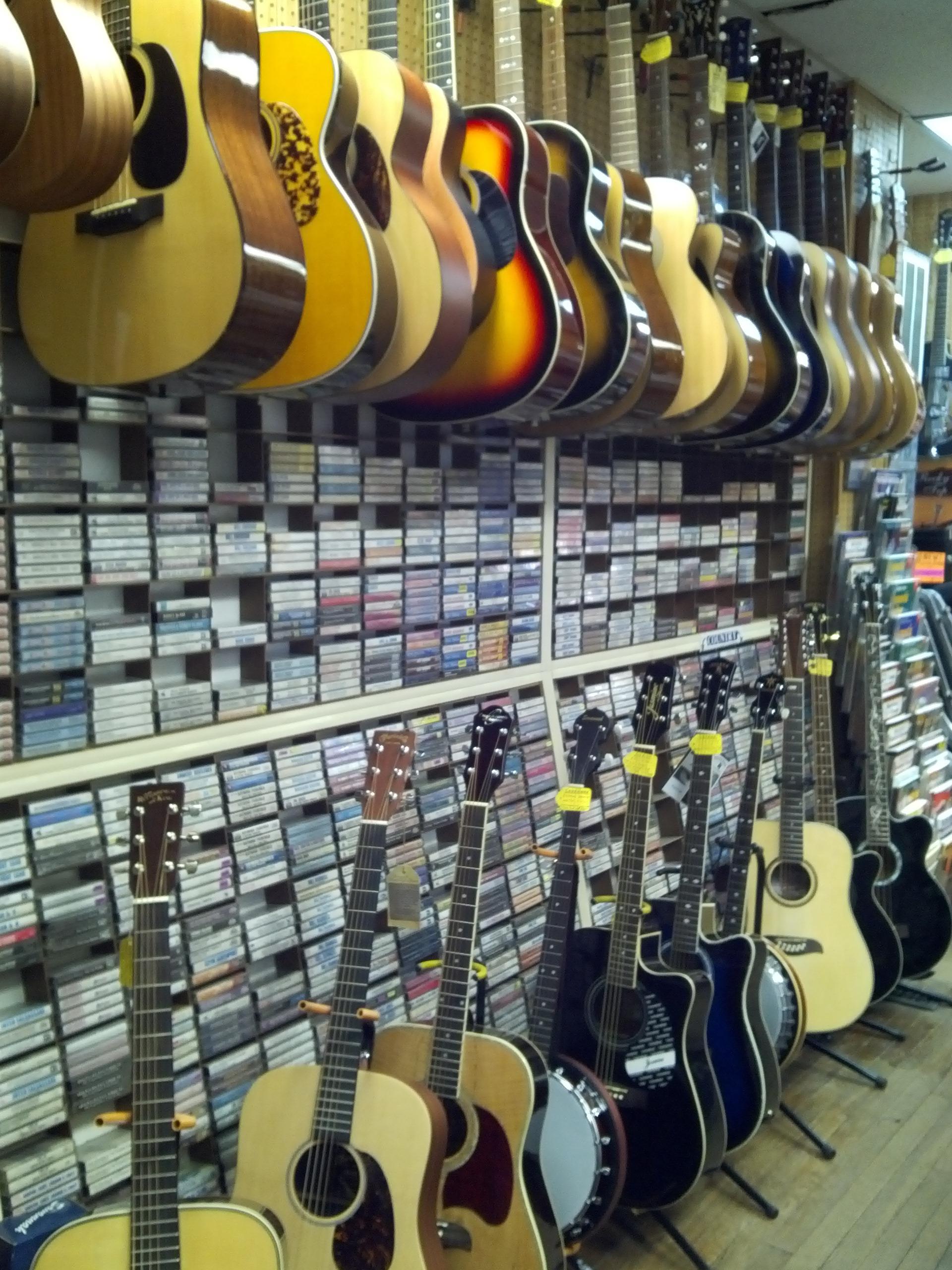 bluegrass music shop